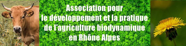 Biodynamie en Rhône Alpes
